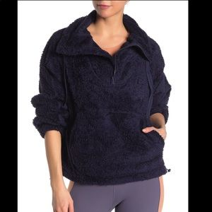 Free People FP Movement Faux Shearling Fleece S